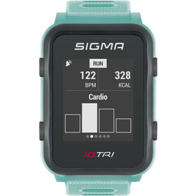 SIGMA SPORT iD.TRI Multi-Sport Watch Set, neon mint